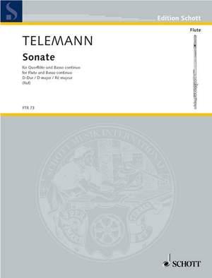 Telemann: Sonata D major TWV 41:D9