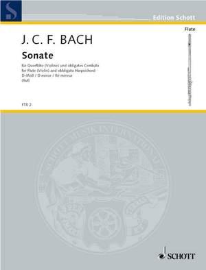 Bach, J C F: Sonata D minor