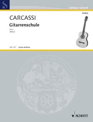 Carcassi, M: Complete Guitar Method Teil 1