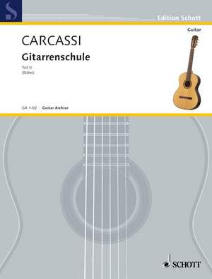 Carcassi, M: Complete Guitar Method Teil 2