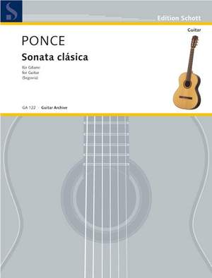 Ponce, M M: Sonata clásica Product Image