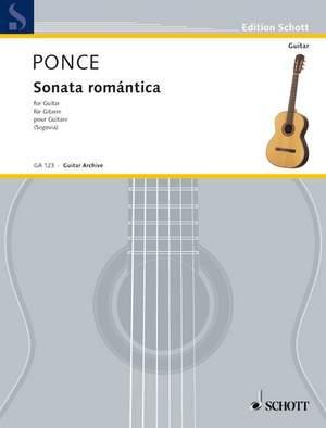 Ponce, M M: Sonata romántica Product Image