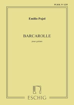Pujol: Barcarolle (Pujol No.1235)