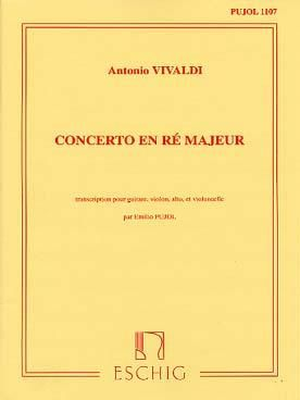 Vivaldi: Concerto FXII/15 (RV93) in D major (Pujol No.1107)