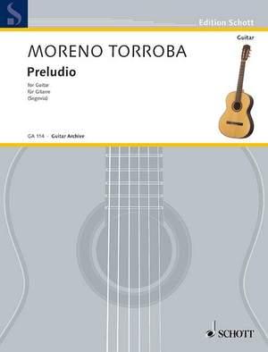 Moreno-Torroba, F: Preludio
