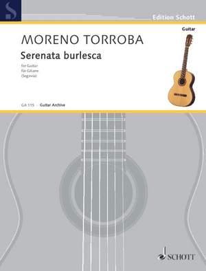 Moreno-Torroba, F: Serenata burlesca