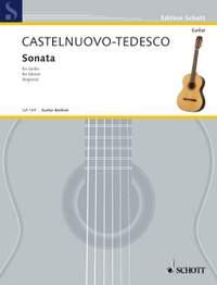 Castelnuovo-Tedesco, M: Sonata D major