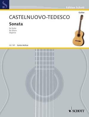 Castelnuovo-Tedesco, M: Sonata D major