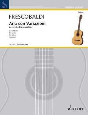 Frescobaldi, G: Aria con Variazioni