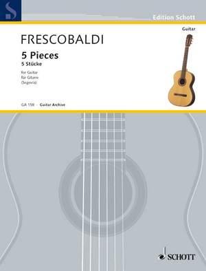 Frescobaldi, G: 5 Pieces Product Image