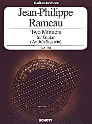 Rameau, J: Two Minuets