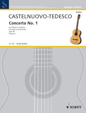 Castelnuovo-Tedesco, M: Concerto in D No. 1 op. 99 Product Image
