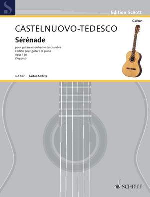 Castelnuovo-Tedesco, M: Serenade d minor op. 118