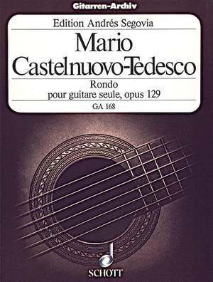 Castelnuovo-Tedesco, M: Rondo e minor op. 129 Product Image
