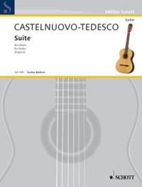 Castelnuovo-Tedesco, M: Suite d minor op. 133