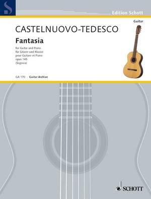 Castelnuovo-Tedesco, M: Fantasia op. 145 Product Image