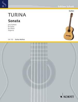 Turina, J: Sonata