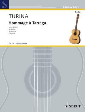 Turina, J: Hommage à Tárrega op. 69