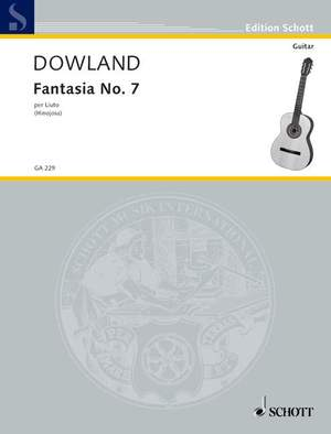 Dowland, J: Fantasia No. 7