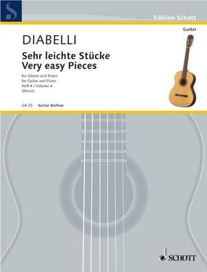 Diabelli, A: Very easy Pieces Vol. 4