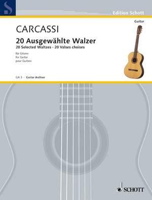 Carcassi, M: 20 Ausgewählte Walzer