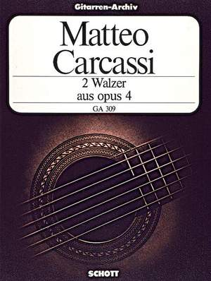 Carcassi, M: Two Waltzes op. 4