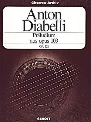 Diabelli, A: Praeludium A major aus op. 103