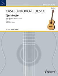Castelnuovo-Tedesco, M: Quintet F major op. 143