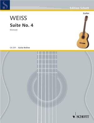 Weiss, S L: Suite No. 4 in A