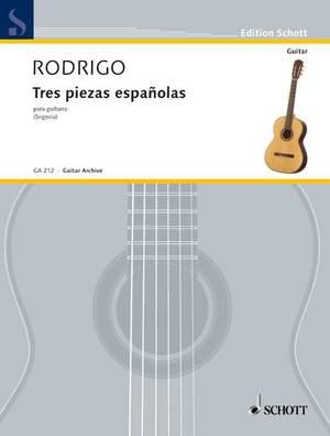 Rodrigo, J: Three Spanish Pieces