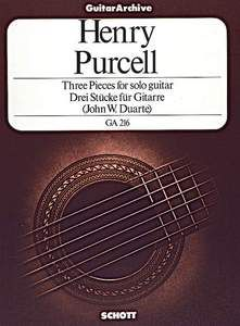 Purcell, H: Three Pieces