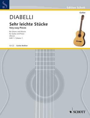 Diabelli, A: Very easy Pieces Vol. 1
