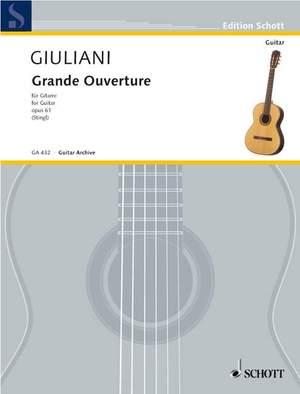 Giuliani, M: Grande Overture op. 61