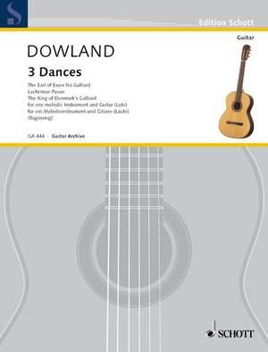 Dowland, J: 3 Dances
