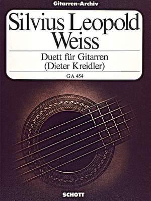Weiss, S L: Duet