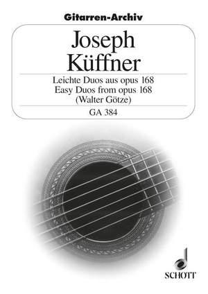 Kueffner, J: Easy Duos aus op. 168
