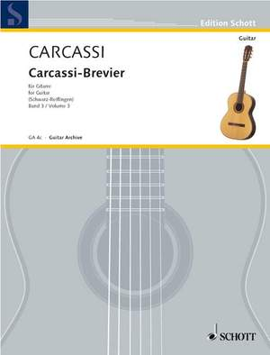 Carcassi, M: Brevier: Selected Works Vol. 3
