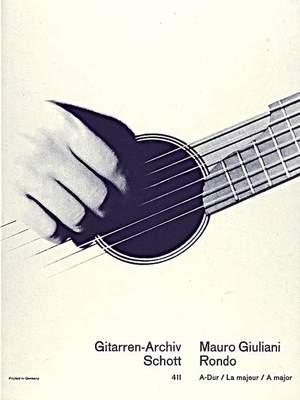 Giuliani, M: Rondo A major op. 17/1