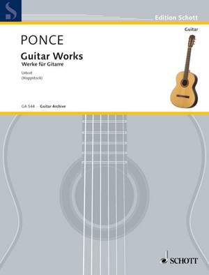 Ponce, M M: Guitar Works