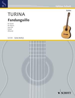 Turina, J: Fandanguillo op. 36