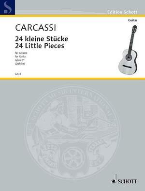 Carcassi, M: 24 Little Pieces op. 21