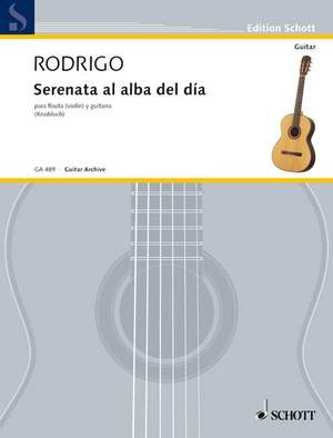 Rodrigo, J: Serenade to the dawn