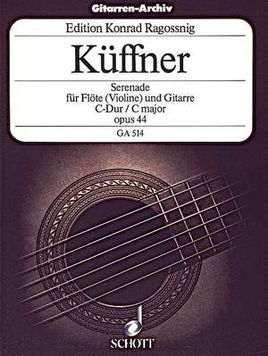 Kueffner, J: Serenade C Major op. 44