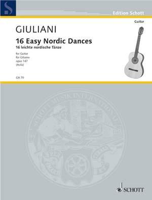 Giuliani, M: 16 Easy Nordic Dances op. 147