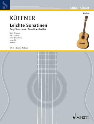 Kueffner, J: Easy Sonatinas op. 80