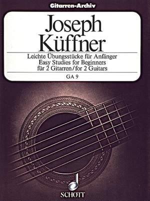 Kueffner, J: Easy Studies for Beginners op. 168