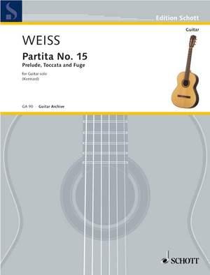 Weiss, S L: Partita No. 15
