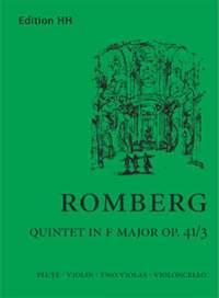 Romberg, A: Flute quintet in F major op. 41/3