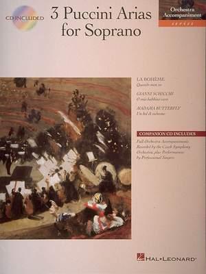Giacomo Puccini: 3 Puccini Arias for Soprano