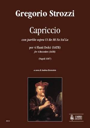 Strozzi, G: Capriccio con partite sopra Ut Re Mi Fa Sol La (Napoli 1687)
